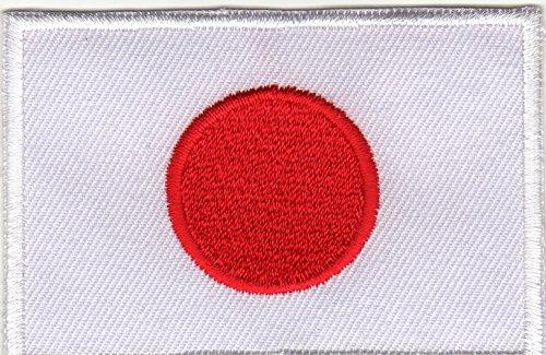 JAB Seller Parche termoadhesivo, diseo de la bandera de pases del mundo Diverse Naciones (Japn)