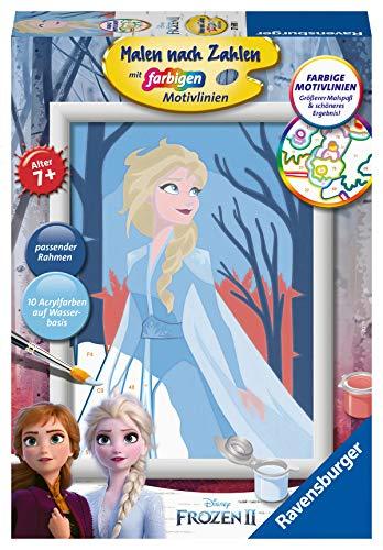 Ravensburger 27698 - Frozen 2: Elsa - Malen nach Zahlen
