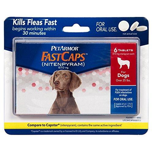 PetArmor FastCaps (nitenpyram) Oral Flea Control Medication