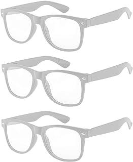 3166eea0dd OWL - Non Prescription Glasses for Women and Men - Clear Lens - UV  Protection
