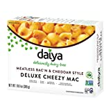 Daiya Meatless Bac'n and Cheddar Style Deluxe Cheezy Mac - Dairy Free Gluten Free Vegan Mac and Cheese - 10.9 oz