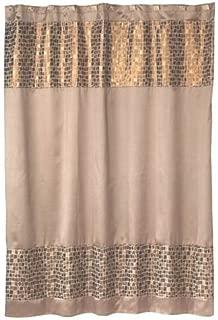Popular Bath Mosaic Stone Bronze Shower Curtain