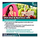 MiaDNA Genetic Home DNA Test Kit for Diet & Nutrition ! Leverage Personal