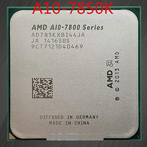 Original Processor AMD APU A10 7850K 3.7GHz Quad Core Socket FM2+ 4MB Cache TDP 95W with Radeon R7 Desktop CPU