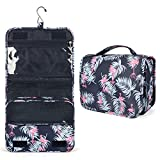 Toiletry Bag Womens, Travel Bag for Toiletries, Portable Shower Bag with Metal Hook, Hanging Toiletry Bag with Large Capacity, Waterproof Travel Makeup Organizer for Girls