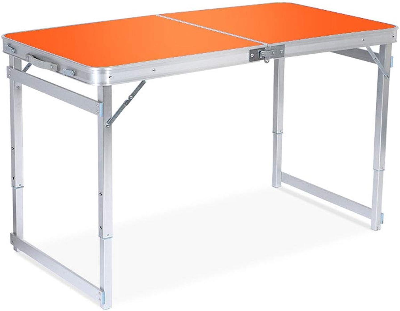 más vendido Lxf20 Lxf20 Lxf20 Mesa Plegable Conveniente - Tabla Ajustable de la deformación del Aluminio de la Altura para el Uso Interior y al Aire Libre (Color   naranja)  ahorre 60% de descuento