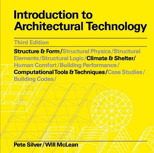 Introduction to Architectural Technology Third Edition