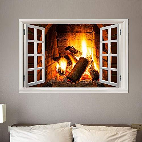 Bilder Fensterblick Leinwand 3D - Wandbild - Fototapete - Poster - Fensterblick - Panorama Bilder -...