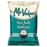 LAY44446 - Kettle Cooked Sea Salt amp; Vinegar Potato Chips
