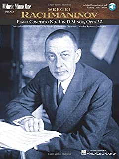Rachmaninov Concerto No. 3 in D Minor, Op. 30: Book/Online Audio