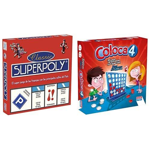 Falomir Superpoly, Juego de Mesa, Clásicos, Multicolor (646375) + Qué Soy yo Juego de Mesa, Multicolor, única (9506)