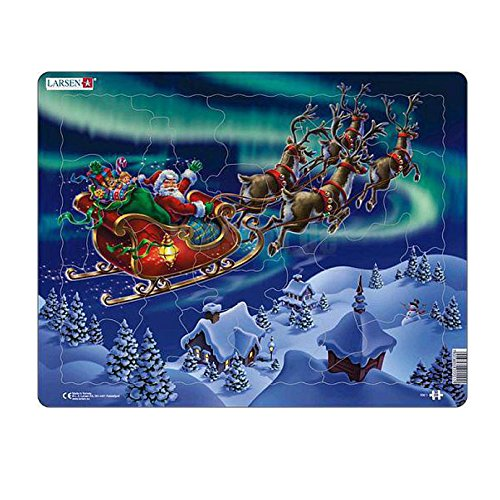 Larsen Puzzle Sposta Babbo Natale