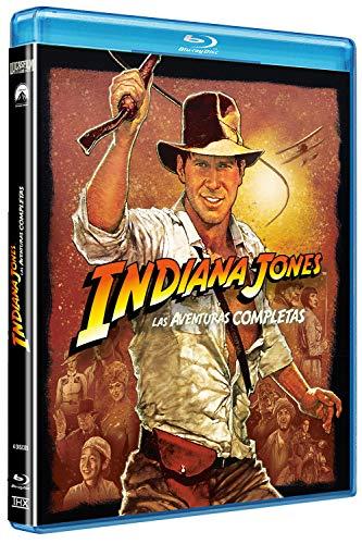 Indiana Jones 1-4 (Edición 2017) Blu-ray