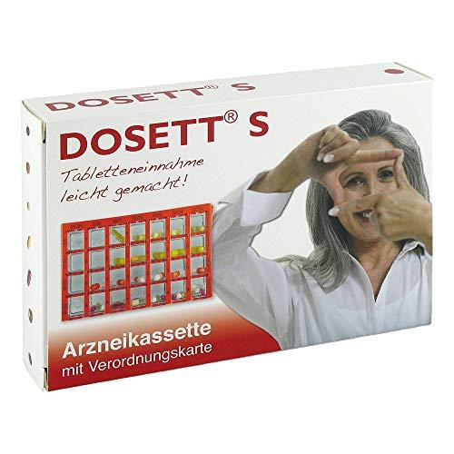 Dosett S Arzneikassetten Rot, 1 St