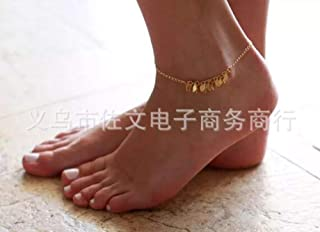 Jewelry Five-Pointed Star Accessories Beach feet Full Handmade Tassels Anklet Leaves Five-Pointed Star Yoga K115