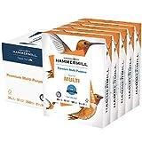 Hammermill Printer Paper, Premium Multipurpose Paper 24 lb, 8.5 x 11 - 5 Ream (2,500 Sheets) - 92 Bright, Made in the USA