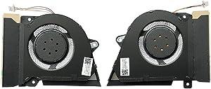 HK-Part Fan for Asus Rog Zephyrus G14 GA401I GA401IV CPU Gpu Cooling Fan Set DC12V 1A