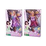 TOINSA- Muムeca Hada Mariposa En Caja Accesorios para muñecas Fashion, Multicolor (03-010)...