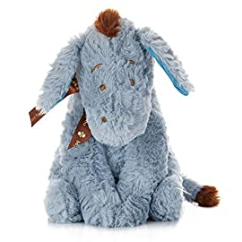 Disney Baby Classic Eeyore 1 PIGLET STUFFED PLUSH: Kids Preferred presents this super soft, cute, charmingly detailed stuffed animal. Babies, toddlers, and kids love this classic and collectible comfy friend. CARING FRIEND: This plush toy is a comforting pal and perfect for get well wishes, birthdays and more! It is a huggable travel friend for kids on road trips & airplanes, or a cute bedroom decoration. MODERN CLASSIC TOY: Disney's Piglet is instantly recognizable bringing sweet memories from your own childhood as it brings joy to your children today.