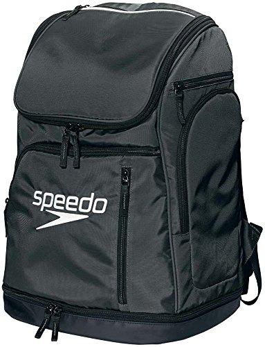Speedo(スピード) バッグ スイマーズリュック 水泳 ユニセックス SD96B01 ブラック/ホワイト ONESIZE