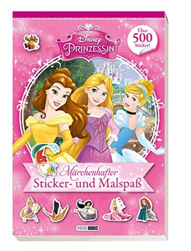 Disney Prinzessin: Märchenhafter Sticker- und Malspaß: über 500 Sticker