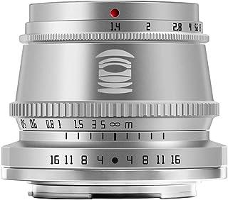TTArtisan 35mm F1.4 APS-C 手動焦点固定レンズ 富士 Xマウント用 富士フイルムカメラ 対応 X-A10 X-A20 X-A3 X-A5 X-A7 X-M1 X-M2 X-H1 X-T10 X-T2 X-T20 X-T3...