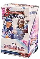 2019 Bowman's Best MLB Baseball HOBBY box (12 pks/bx, FOUR Autograph cards)