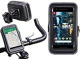Navitech Fahrrad Fahrrad und Motorrad Wasserdicht Halter Mount und Hülle Geeignet kompatibel mit Royole FlexPai