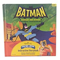 Hallmark Interactive Storybook Batman Riddles and Roars! Book 2 159530908X Book Cover