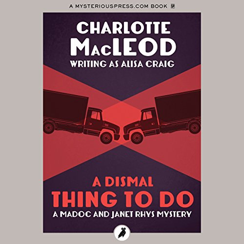 A Dismal Thing to Do audiobook cover art