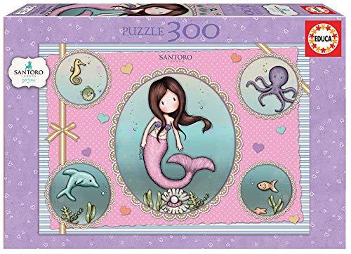 Educa- Gorjuss So Nice To Sea You Puzzle Infantil de 300 Piezas, a Partir de 8 años (18646)