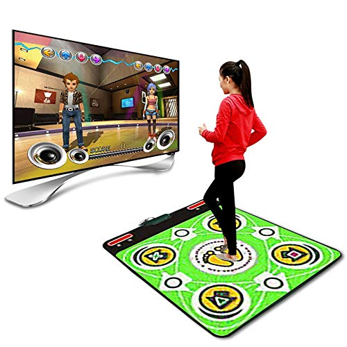 Dasongff Tapis de danse avec PC et TV Dance Mat Pad Dancer Tapis de danse avec USB pour enfants et adultes
