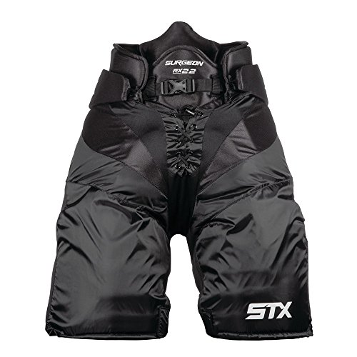 STX Ice Hockey Surgeon RX2.2 Senior Pants, Black, Small