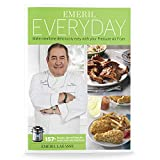 Emeril Lagasse Pressure Cooker & Air Fryer Cookbook with 157+ Quick and Easy Recipes | Air Fry, Slow Cook, Pressure Cooker Recipes & More | Emeril Everyday Collection