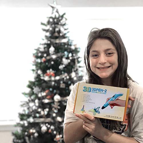StillCool 3D-Zeichnung Druck 3D Stift gifts LCD-Display for kids & adults Zeichnung und Kunst & handgefertigte Werke Doodle Puzzle Spielzeug - 6