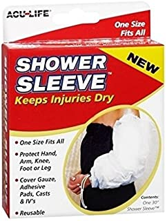 Acu-Life Shower Sleeve One Size 1 EA - Buy Packs and SAVE (Pack of 2)