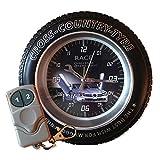 4 GB de la cámara espía rueda de cruz despertador controlado a distanc