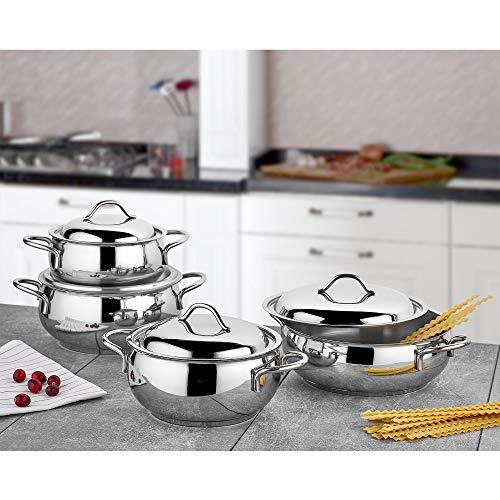 Batería Cocina Acero Inoxidable 18 10 Marca Gülsan