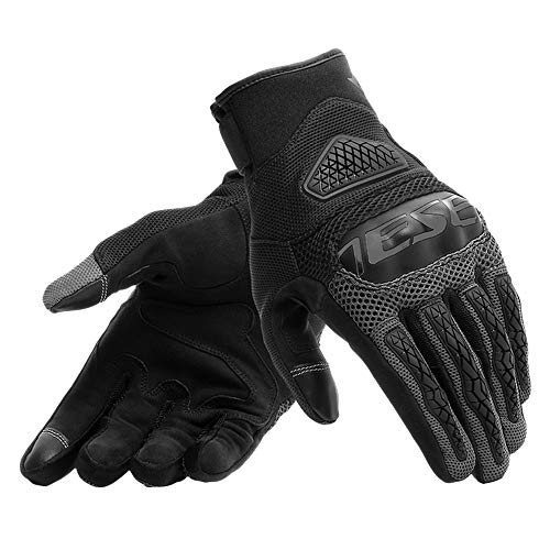 Dainese Men's Bora Motorbike Gloves, Black, L