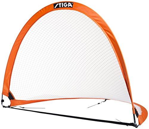 Stiga FB Goal Pop-Up 2-Pack Football, Orange/Black, One Size