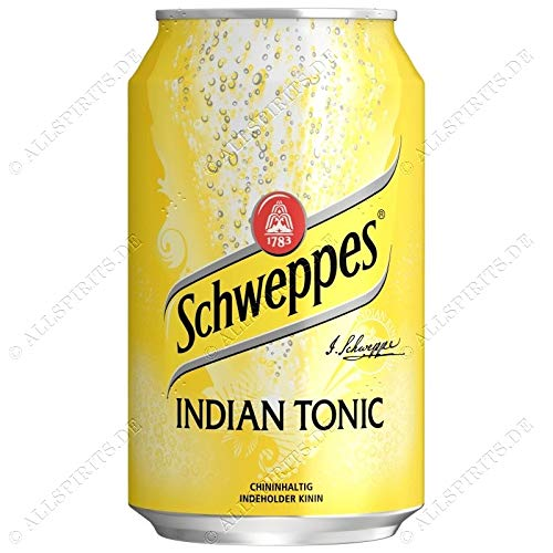 Schweppes Indian Tonic 24 x 0,33 ltr. inkl. Pfand