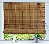 Bamboo Roll Up Window Blind Sun Shade W32' x H72'