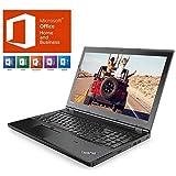 【MS Office H&B搭載】Lenovo ThinkPad L570 Windows10 Pro 64bit Corei5-7200U 4GB 500GB DVDスーパーマルチ 15.6型HD・LED液晶ノートパソコン ESETセキュリティ1年版同梱