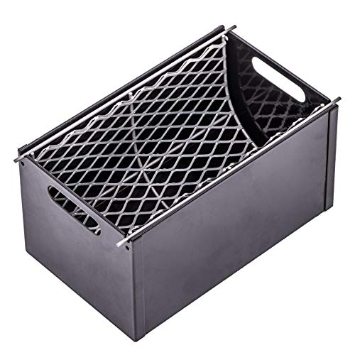 Oklahoma Joe's 3697490W01 Charcoal Grill Smoker Box, Gray