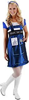 Elope Women's Dr. Who Tardis Dress