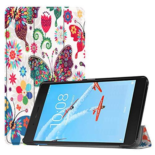 Hülle für Lenovo Tab E7 TB-7104F 7 Zoll Smart Cover Etui mit Standfunktion & Auto Sleep/Wake Funktion