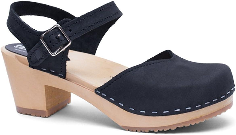 Sandgrens Swedish Handmade Wooden Sandal NEW before selling Industry No. 1 Clog Victoria