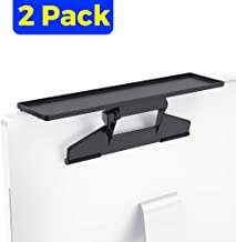 [2 Pack] Monitor Top Shelf Mounts Stand TV Computer Monitor Office Desk Partition Storage Box Stand