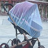 Tablecloth Mosquitera universal para cochecito, cubierta de red de cochecito, red de insectos para cochecito, protector de viaje para cochecito, funda de insectos Fly Midge