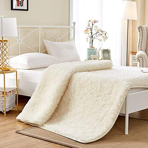 Útiles colchones futón Tatami, Materiales Naturales Delgados, Suaves, acogedores, cálidos, Altos, con colchón Individual, Dormitorio B-135x200cm (53x79 Pulgadas)